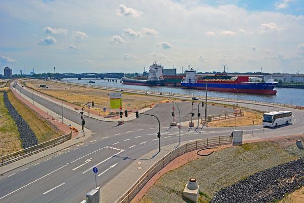Zukünftiges Quartier am Baakenhafen am 02.08.2014