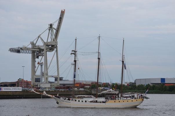 MARE FRISIUM im Hamburger Hafen am 15.07.2012
