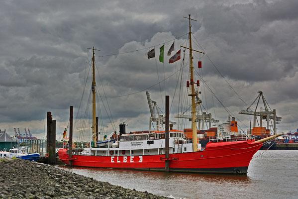 ELBE 3 im Museumshafen Hamburg/Övelgönne