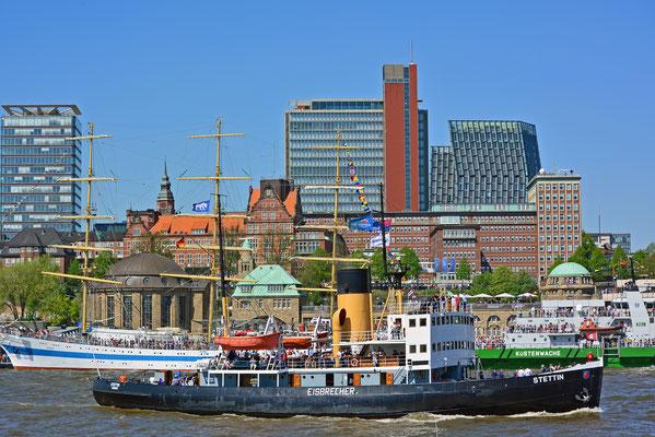 STETTIN zum 827.Hamburger Hafengeburtstag