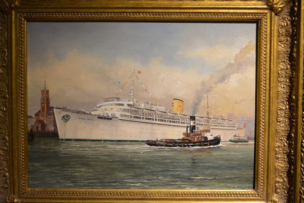 """IMMH (Gemälde von der """"Wilhelm Gustloff"""") am 24.02.2013"""