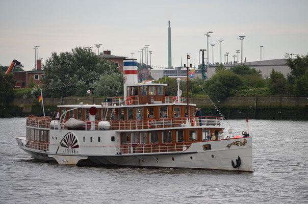 FREYA zum Cunard Queens Day am 15.07.2012