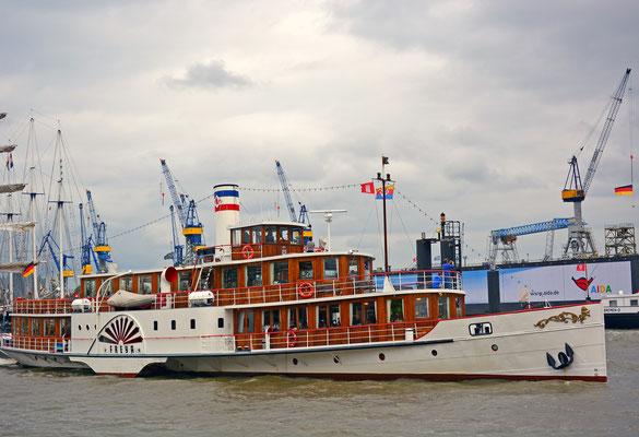 FREYA zum 825.Hamburger Hafengeburtstag 2014