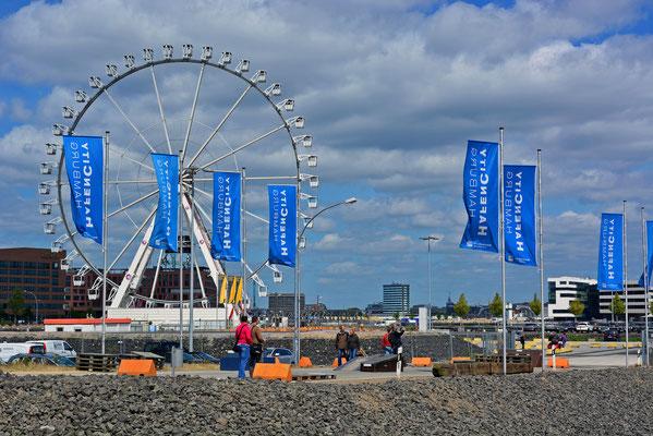 Das 60 m hohe Steiger-Riesenrad am HCC