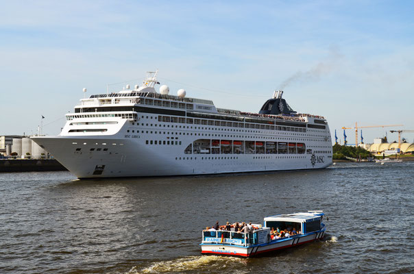 MSC LIRICA zu den Hamburg Cruise Days 2012