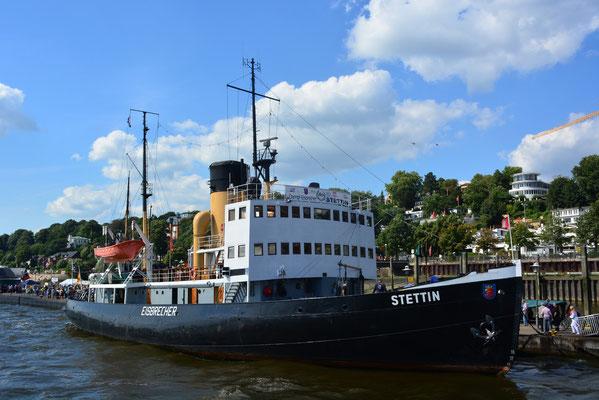 STETTIN zum Hafenfest im Museumshafen Övelgönne am 24.08.2013