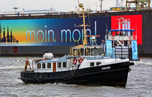 MARXEN zur Parade Hamburger Traditionsschiffe am 23.08.2014