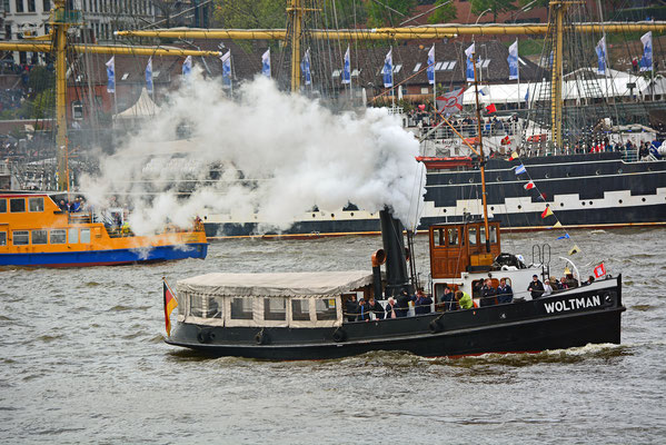 WOLTMAN zum 828.Hamburger Hafengeburtstag