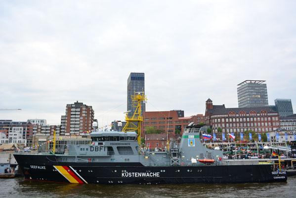 Fischereischutzboot SEEFALKE