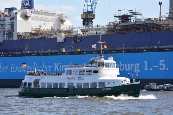 KIRCHDORF im Hamburger Hafen am 20.04.2013