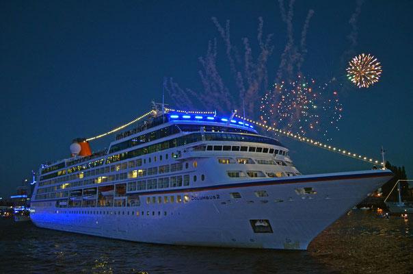 COLUMBUS 2 zu den Hamburg Cruise Days 2012