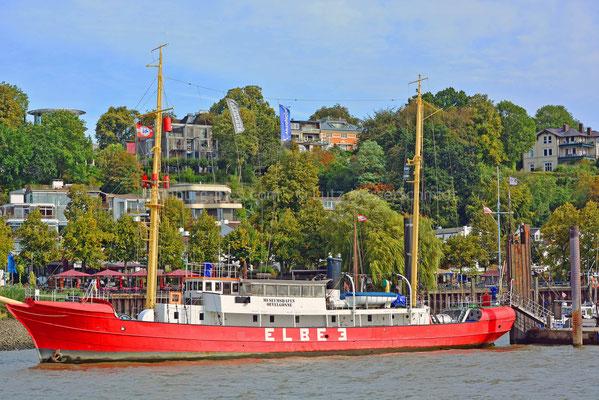 Museumshafen Övelgönne - 62 (Feuerschiff ELBE 3)