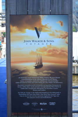 JOHN WALKERS & SONS VOYAGER im Traditionsschiffhafen der HafenCity am 25.07.2013
