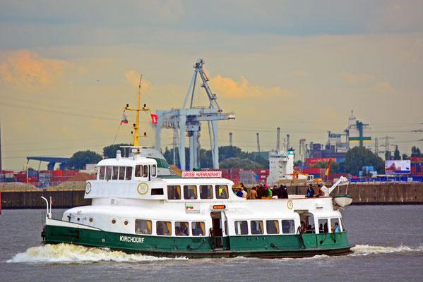KIRCHDORF zur Parade Hamburger Traditionsschiffe am 23.08.2014