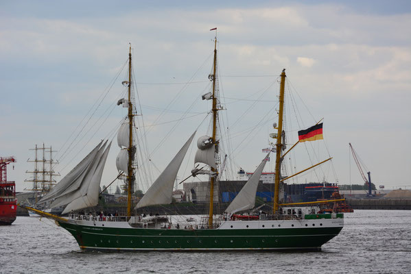 ALEXANDER VON HUMBOLDT II (3-Mast-Bark)