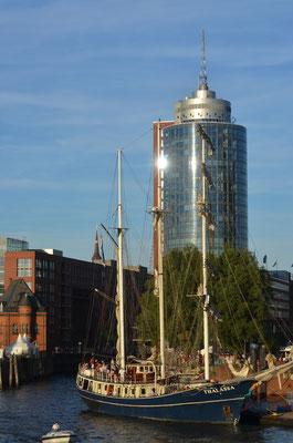 THALASSA zu den Hamburg Cruise Days am 18.08.2012
