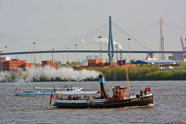 CLAUS D. zum 828.Hamburger Hafengeburtstag