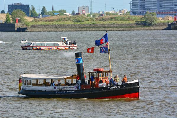 CLAUS D. zum 830.Hamburger Hafengeburtstag