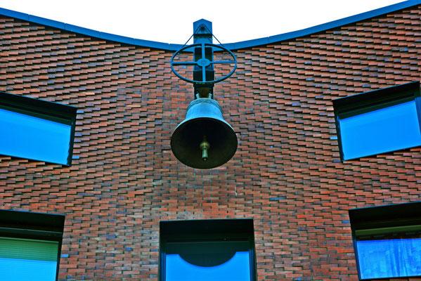 Glocke am Ökumenisches Forum HafenCity in der östlichen HafenCity/Shanghai-Allee