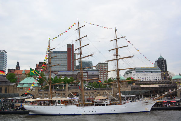 CISNE BRANCO (Dreimast-Vollschiff/Brasilien,Schulschiff)