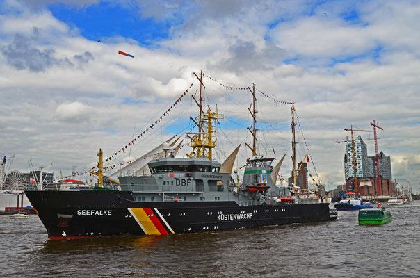 KÜSTENWACHE SEEFALKE CUXHAVEN zum Hamburger Hafengeburtstag 2012