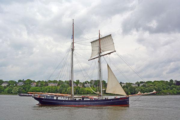 WYLDE SWAN zum 825.Hamburger Hafengeburtstag 2014
