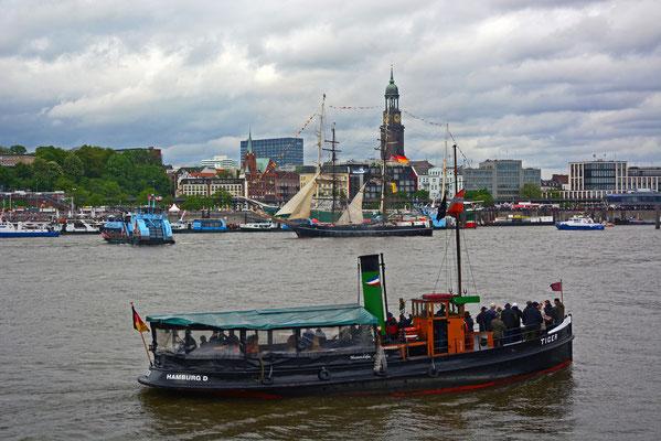 TIGER zum 825.Hamburger Hafengeburtstag 2014