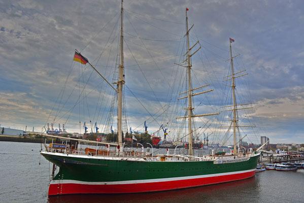 RICKMER RICKMERS (Großsegler,Vollschiff aus Stahl auf Querspanten,Museumsschiff)
