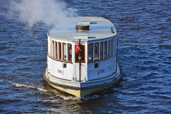 St. Georg...Deutschland's ältestes fahrtüchtiges Dampfschiff