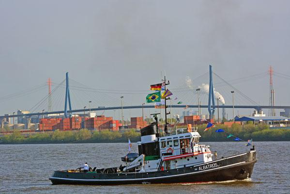 ALBATROS zum 828.Hamburger Hafengeburtstag