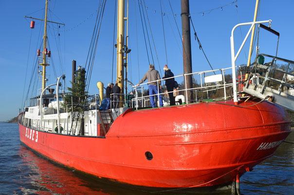 ELBE 3 im Museumshafen Övelgönne am 15.12.2012