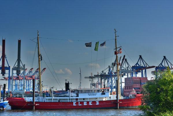ELBE 3 am Museumshafen Övelgönne am 11.08.2013