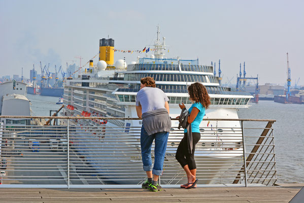 COSTA MEDITERRANEA am HCC Altona am 06.09.2014