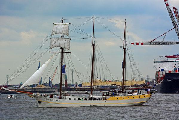 MARE FRISIUM zum 824.Hamburger Hafengeburtstag 2013