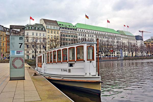 An der St.Georg, Deutschland ältestem Dampfschiff