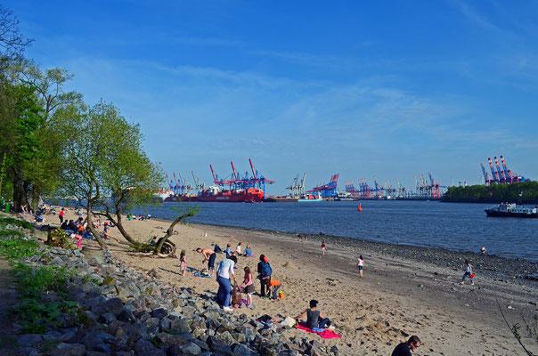 Elbstrand Hamburg/Övelgönne