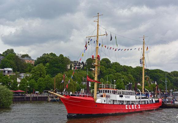 Hafengeburtstag im Museumshafen Övelgönne/Feuerschiff ELBE3
