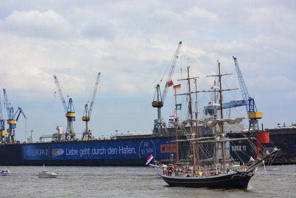 MORGENSTER beim 824.Hamburger Hafengeburtstag am 10.05.2013