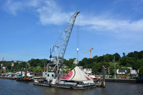 KARL FRIEDRICH STEEN im Museumshafen Övelgönne am 27.07.2013