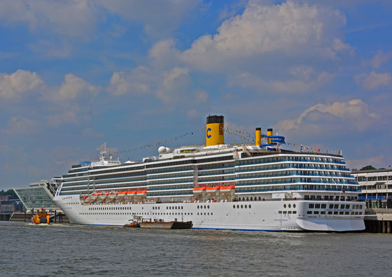 COSTA MEDITERRANEA am HCC Altona am 28.07.2014
