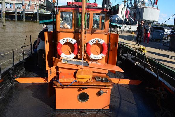 TIGER zum Hafenfest in Museumshafen Övelgönne am 24.08.2013