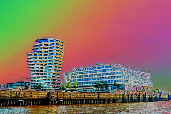 Marco Polo Tower und Unilever-Gebäude