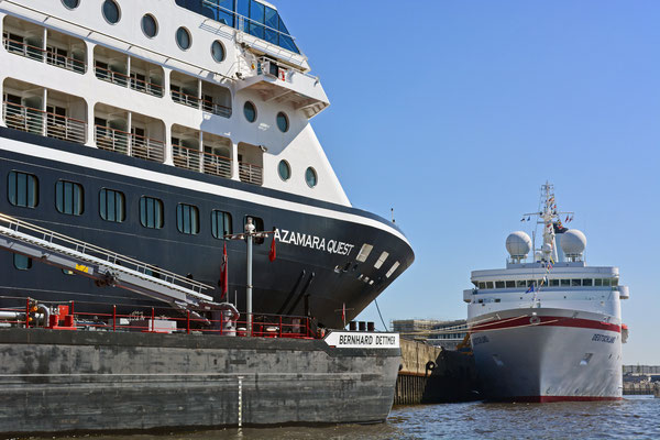 AZAMARA QUEST am HCC Hafencity am 23.07.2014