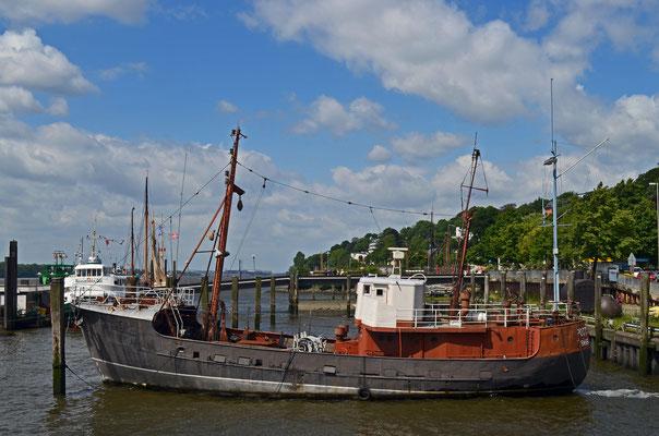 POTTWAL im Museumshafen Hamburg/Övelgönne