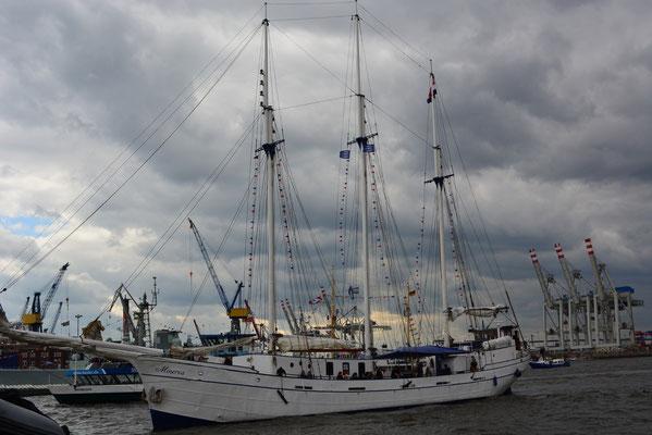 Minerva (Dreimast-Gaffelschoner/Niederlande)