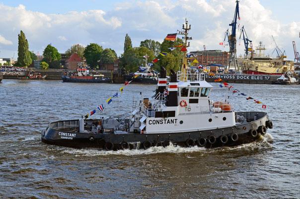 CONSTANT beim Schlepperballett zum Hamburger Hafengeburtstag 2012