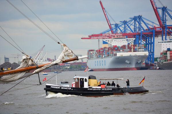 Zollboot PRÄSIDENT SCHAEFER