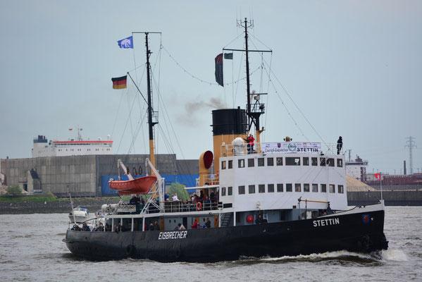STETTIN beim 824.Hamburger Hafengeburtstag am 10.05.2013