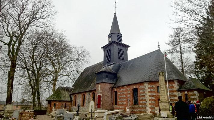 L'église de la Nativité de Notre-Dame 🕍. Paroisse de l'ancienne doyenné de Ry, actuel doyenné de Buchy qui assure le culte, l'église de Bois-Héroult fut édifiée au XVe siècle.