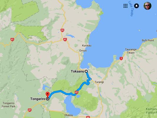 Tokaanu ist der ideale Ausgangsort um den Tongariro Nationalpark zu besuchen